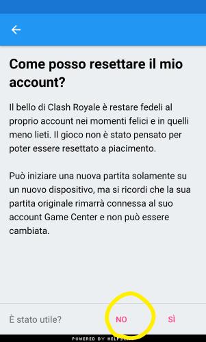 Come contattare Supercell su Clash Royale - Contatto diretto