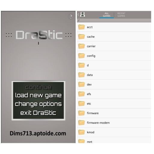 Migliori emulatori di giochi per android - Drastic