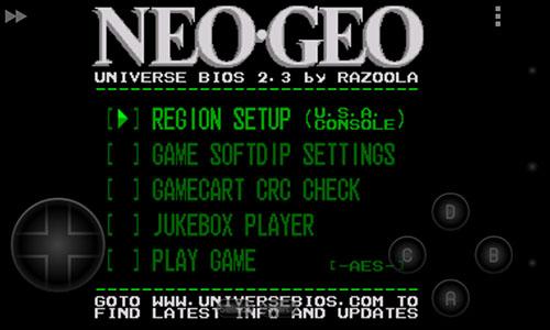 Migliori emulatori di giochi per android - Neo.emu