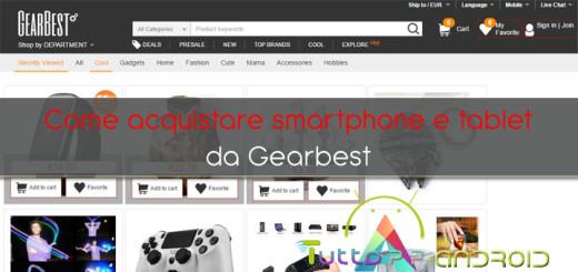 Come acquistare da Gearbest