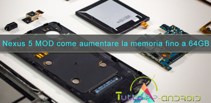 Photo of Come aumentare memoria Nexus 5 fino a 64gb