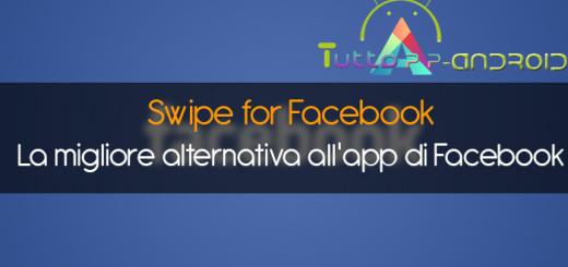 Swipe for Facebook - La migliore alternativa all'app di Facebook - Copertina