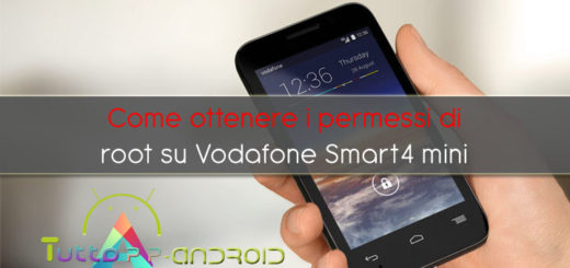 root Vodafone Smart 4 mini
