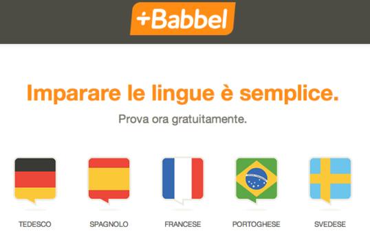 migliori app per imparare l'inglese - Babbel
