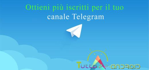 Come pubblicizzare un canale Telegram