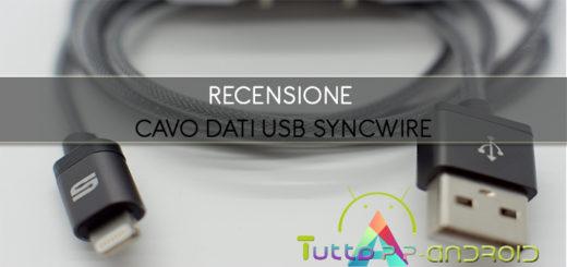 Recensione cavo dati usb Syncwire