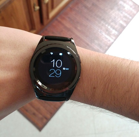 no.1 s5 smartwatch display ips