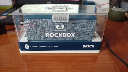Recensione Fresh n Rebel Rockbox Brick Fabriq edition