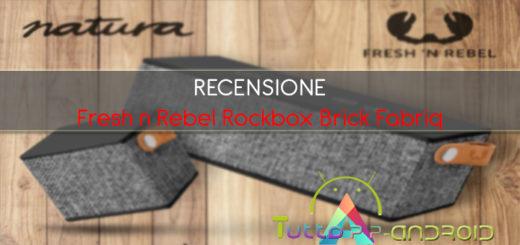 Recensione Fresh n Rebel Rockbox Brick Fabriq edition