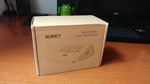 Recensione Hub USB 3.0 Aukey - unboxing aukey hub usb