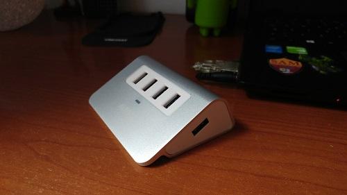 Recensione Hub USB 3.0 Aukey - porte usb aukey hub
