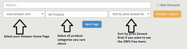 come ricevere prodotti Amazon gratuitamente - Amazon Menu