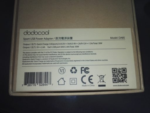 Recensione stazione di ricarica USB Dodocool