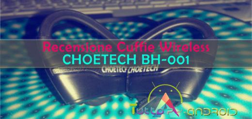 Recensione Cuffie Wireless CHOETECH BH-001