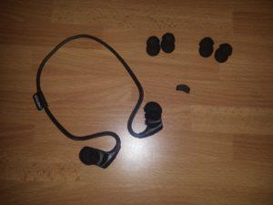 recensione cuffie Wireless CHOETECH BH-001 cuscinetti in gomma