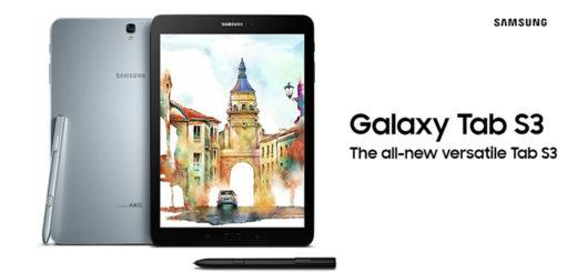 samsung galaxy tab s3 ufficiale