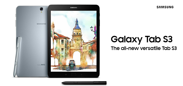Photo of Samsung Galaxy Tab S3 ufficiale: Tablet con S-Pen e display da 9.7 pollici