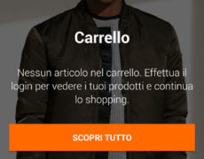 App Zalando - Carrello