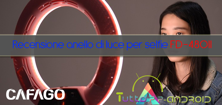 Photo of Recensione anello di luce per selfie FD-480II