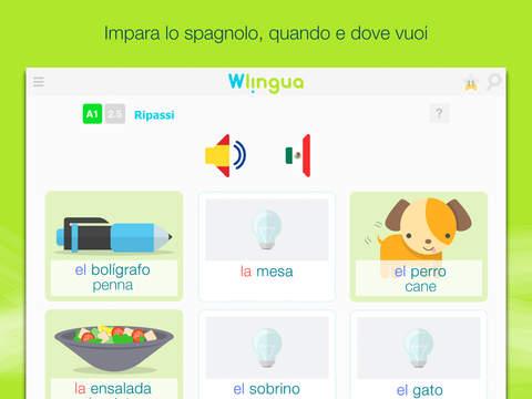 migliori app per imparare spagnolo - Wlingua