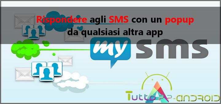 Photo of Rispondere agli SMS con un popup da qualsiasi altra app
