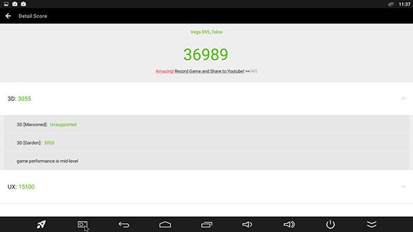 Tronsmart Vega S95 benchmark
