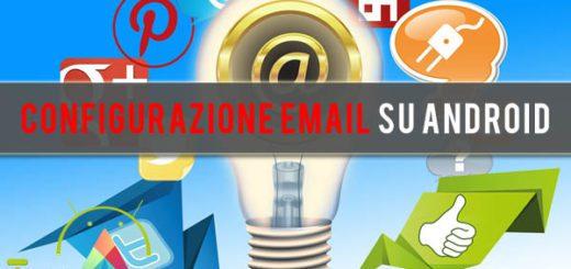 configurare email su Android