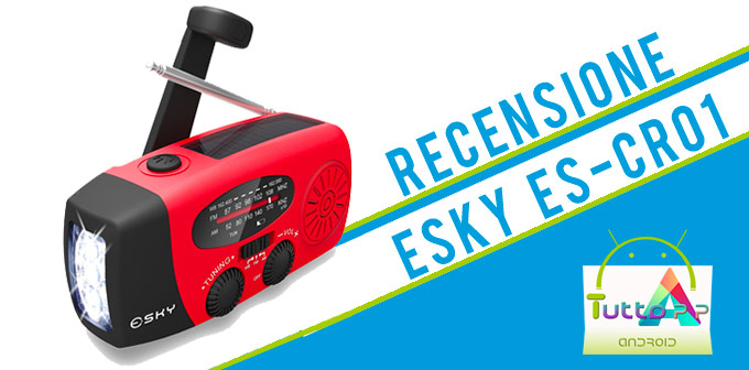 Photo of Recensione PowerBank solare Esky ES-CR01
