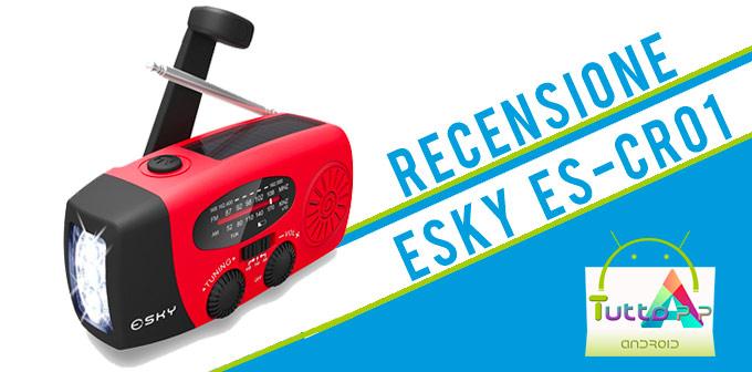Photo of Recensione PowerBank solare Esky ES-CR01