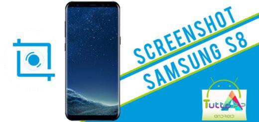 Screenshot Galaxy S8: come salvare la schermata su Samsung S8