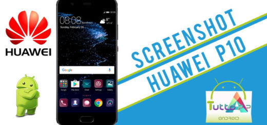 Screenshot Huawei p10 p10 lite: come fare