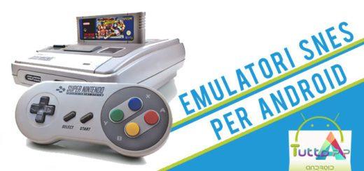 Emulatore SNES giochi per Super Nintendo