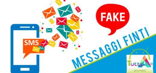 Messaggi finti creare messaggi falsi