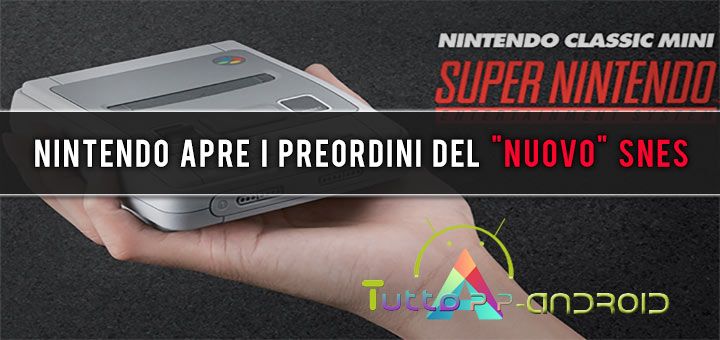 "Photo of Nintendo apre i preordini del ""nuovo"" SNES"
