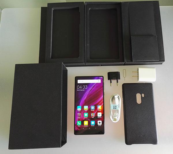 Recensione Xiaomi Mi Mix - unboxing confezione
