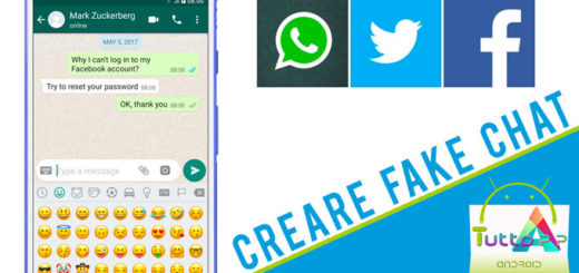 come creare fake chat
