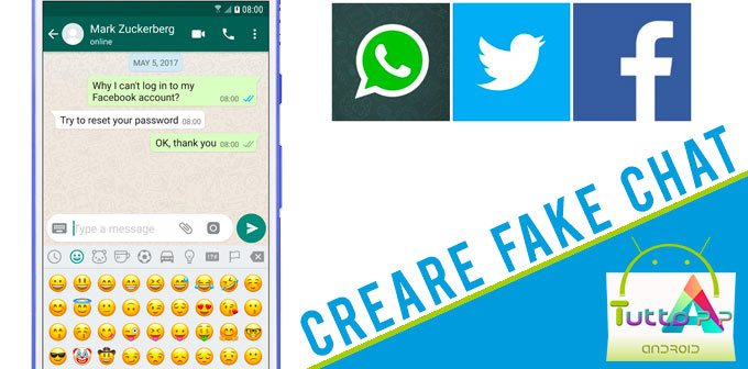 Photo of Come creare fake chat: conversazioni false per Facebook, Whatsapp e Twitter
