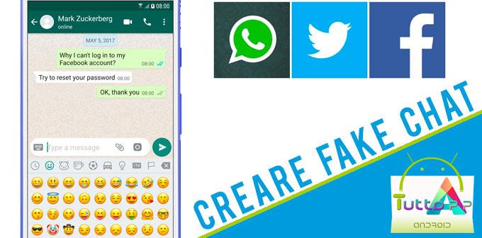 Photo of Come creare fake chat: conversazioni false per Facebook, Whatsapp e Twitter