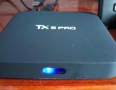 Box tv Docooler Tx5 Pro