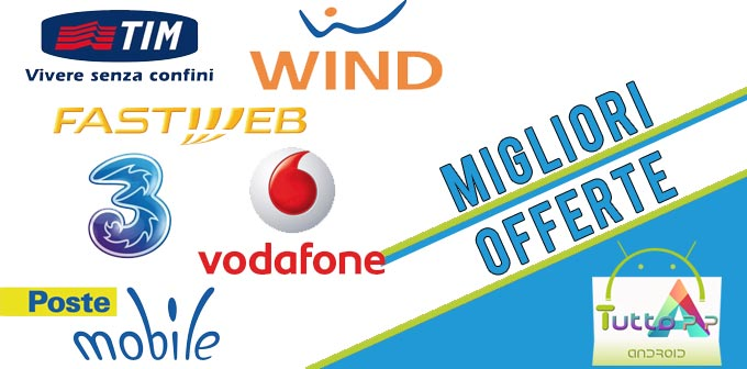Photo of Migliori offerte telefoniche • TIM • Tre • Vodafone • Wind • Agosto 2017