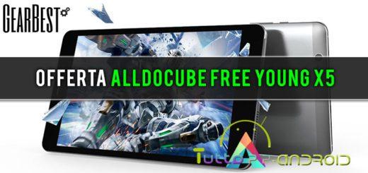 Offerta ALLDOCUBE Free Young X5