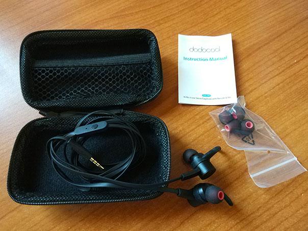 Recensione Auricolari Dodocool Hi-Res Sport DA108 - unboxing