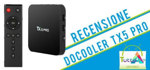 Recensione Docooler TX5 Pro