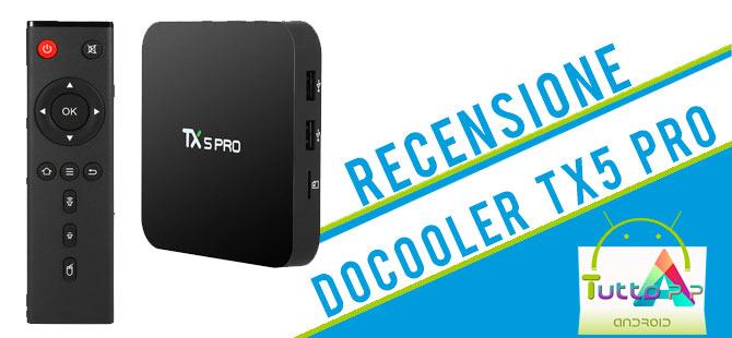 Photo of Recensione Docooler TX5 Pro: tv box Android ottimo