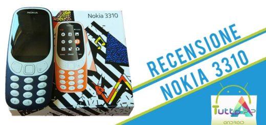 Recensione Nokia 3310