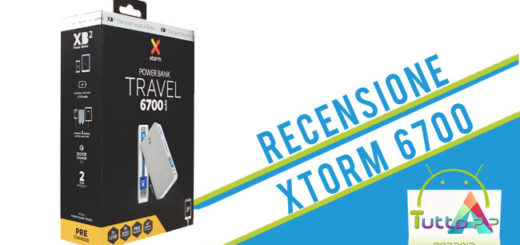 Recensione Powerbank Xtorm 6700 Travel
