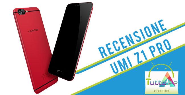 Recensione Umidigi Z1 pro