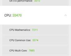 Recensione Xiaomi Mi Mix - Hardware (AnTuTu Benchmark CPU)