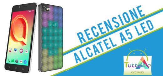 Recensione Alcatel A5 LED