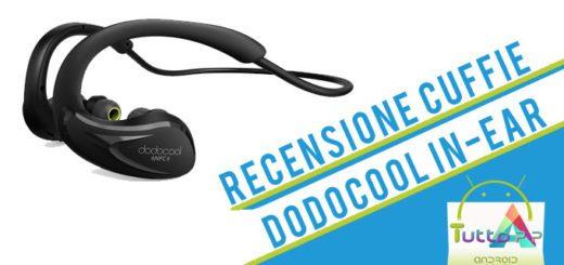 Recensione cuffie Dodocool in-ear bluetooth